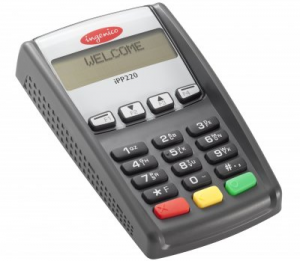 Клавиатура выносная/автономная Ingenico IPP 320 USB, RS232, Ethernet, contactless, банк убрир